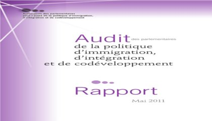 audit parlementaire immigration 0511
