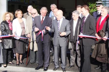 Mardi 24 novembre 2009, inauguration du Centre Incendie Secours St Agne - Buchens