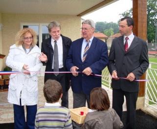 Samedi 19 juin 2010, Inauguration de la Maison des Associations de Balesta