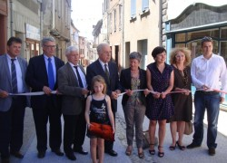 Aspet - Inauguration du Centre Bourg rénové