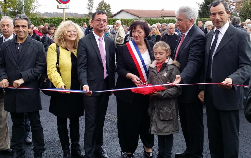 Inauguration salle des fêtes rénovée de Bordes de Rivière