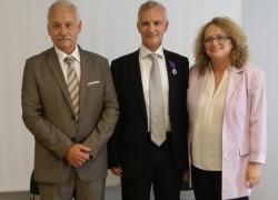 Remise des Palmes Académiques à Laurent Mazuray