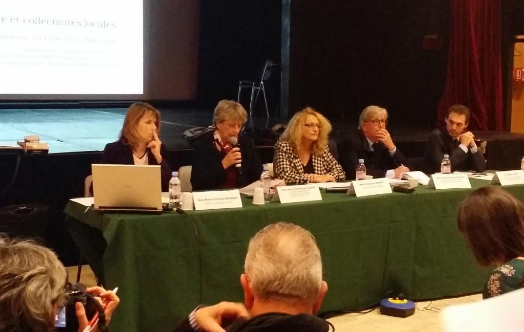 Conférence de l'Agence Technique Départementale