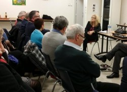 Réunion avec les élus de la Communauté de Communes Save et Garonne