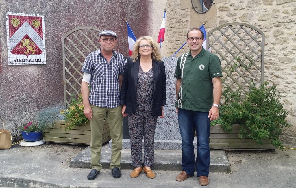 Visite à Rieumajou à l'occasion de la Fête locale