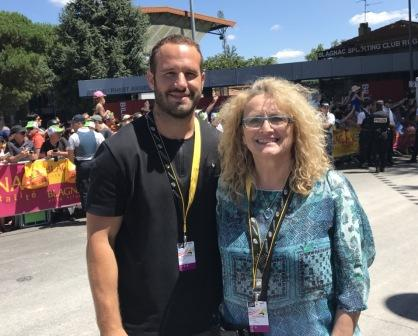 Départ de la 14ème étape du Tour de France à Blagnac