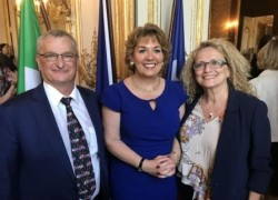 Départ de Mme Géraldine Byrne Nason, Ambassadeur d'Irlande