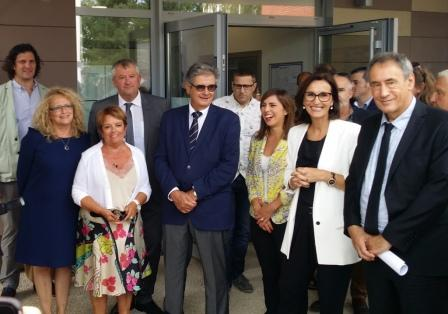 Inauguration de la rénovation de l'école Jules Ferry à Colomiers
