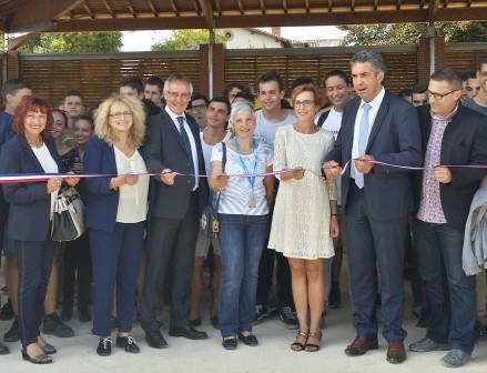Inauguration de la Halle paysagère du LEGTA d'Ondes