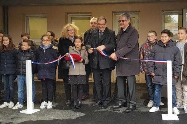 Inauguration et voeux à Montrabé