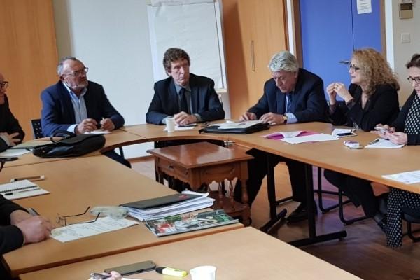 Réunion avec les membres du bureau de l'AMF 31