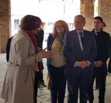 Visite du Ministre de la Cohésion des territoires en Haute-Garonne