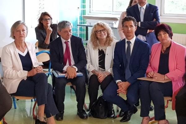 Visite de Mme Sophie Cluzel, Secrétaire d'Etat chargée des personnes handicapées