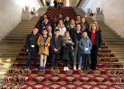 Visite du Conseil Municipal des jeunes de Léguevin