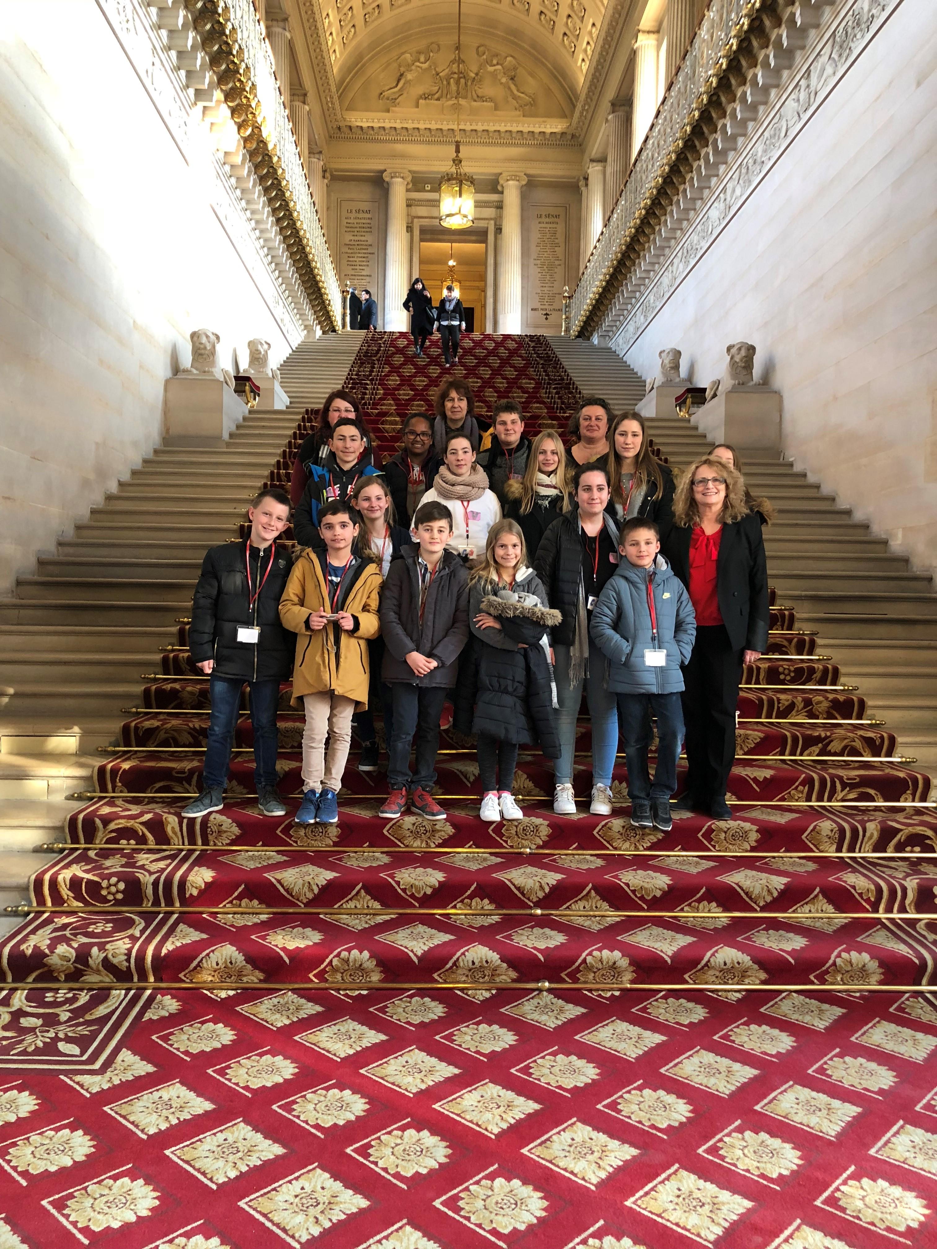 Visite du Conseil Municipal des Jeunes de la Ville de Leguevin