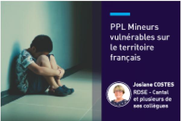 Mineurs vulnérables sur le territoire français