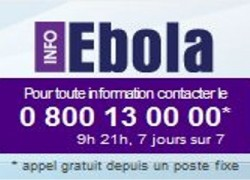 Lutte contre la propagation du virus Ebola en France