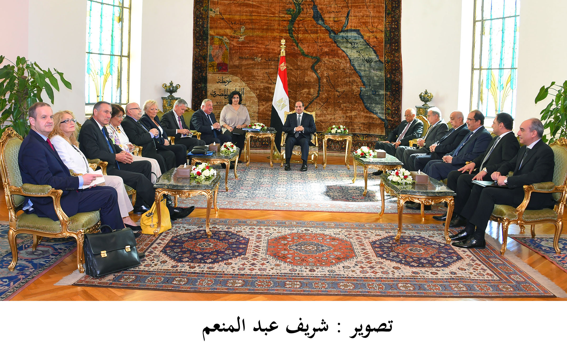 Visite officielle en Egypte
