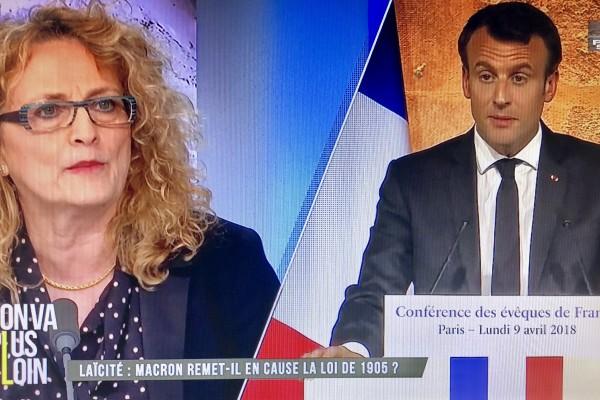 Réaction au discours du Président de la République devant les évêques de France