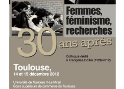 Colloque féminisme à Toulouse