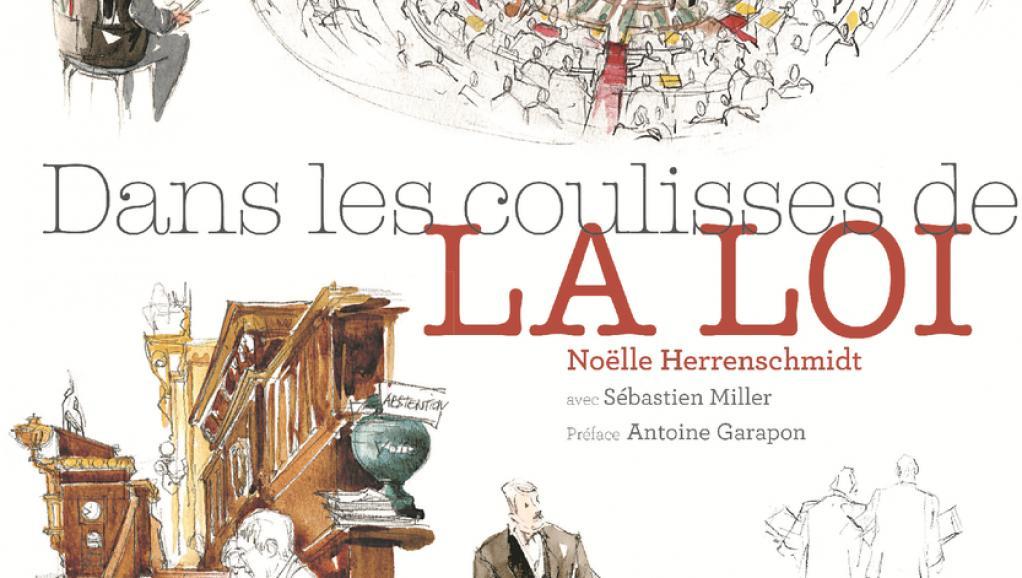 Exposition sur les grilles du jardin du Luxembourg, Dans les coulisses de la loi