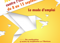 6e Journées Nationales d'Action contre l'Illettrisme