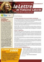 N°01 - Octobre 2009 - news F. Laborde