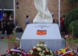 Mardi 13 juillet 2010, Inauguration de la plaque de la BA 101 à Cugnaux