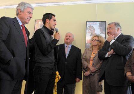 Mardi 13 octobre 2009, le Tour de France au Sénat